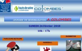Journée de Sensibilisation à COLOMBES